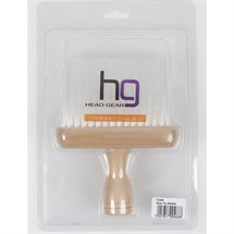 Head-Gear Neck Brush Natural Wood