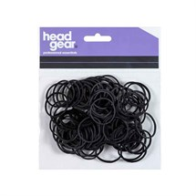 Head-Gear Hair Bands Black Pk100