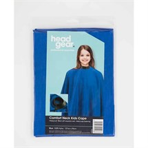 Headgear Kids Cape with Comfort Neck - Blue