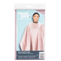 Head-Gear Rose Gold Cape