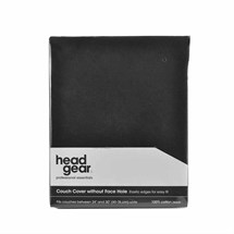 Head Gear Couch Cover - Without Face Hole (Black)