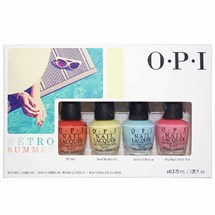 OPI Lacquer Retro Summer Mini Collection (4 Pack)