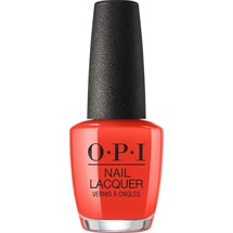OPI Lacquer 15ml - Lisbon - A Red-vival City