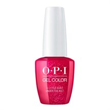 OPI GelColor 15ml - Scotland - A Little Guilt Under The Kilt