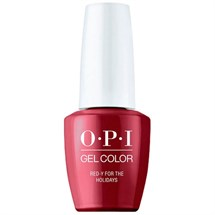 OPI GelColor 15ml - Shine Bright - Red-Y for the Holidays