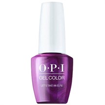 OPI GelColor 15ml - Shine Bright - Let's Take an Elfie