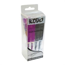 Kodo Hawk Clip Black X 2 Purple X 2