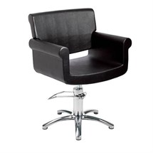 Maletti Monique Deluxe Styling Chair - 5 Star Base