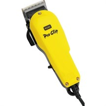 Wahl Pro Clip Clipper - Yellow (NO BOX)