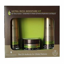 Macadamia Professional Ultra Rich Moisture Travel Essentials Kit