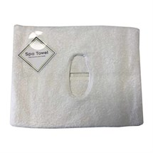 Spa Towel with Easy Breathe Hole - White