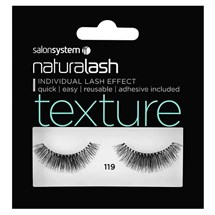 Salon System Naturalash Strip Lashes - 119 Black