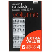 Salon System Naturalash Extra Value Pack (6 for the price of 4) - Medium