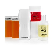 Salon System Just Wax Portable Roller Wax Kit