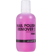 Salon System Profile Nail Polish Remover 2 125ml - Acetone Free