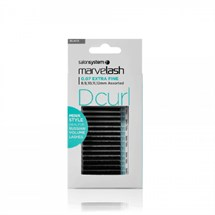 Salon System Marvelash D Curl 0.07 Assorted - Black