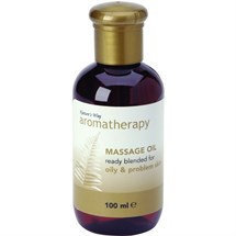 Natures Way Oily Problem Massage Oil 100ml