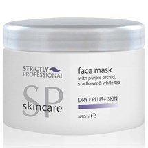 Strictly Professional Face Mask with Purple Orchid, Starflower & White Tea 450ml