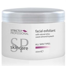 Strictly Professional Facial Exfoliant with Natural Olive, Sweet Almond & Peach 450ml