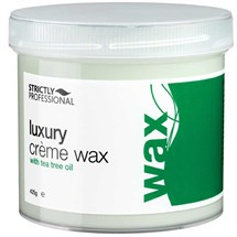 Strictly Professional Luxury Creme Wax with Tea Tree Oil 425g