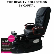 Capital Belgravia Massage Pedi Spa Chair - Black