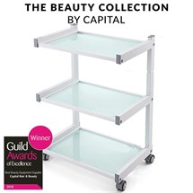 Capital Pro Clinic Trolley - White