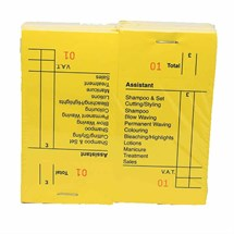 Yellow Check Pads -  Pack of 12