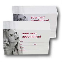 Salon Appointment Cards Pk200