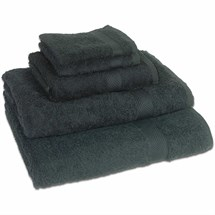 Aztec Single Towel - Black
