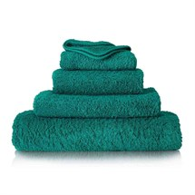 Aztec Single Towel - Forest Green
