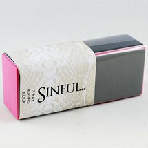 Sinful 3 Way Finishing Block - Single