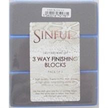 Sinful 3 Way Finishing Blocks - Pk3