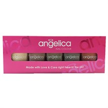Angelica Nail Colour Gift Set - Nude