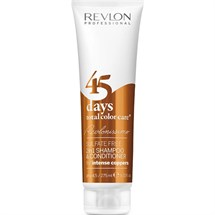Revlon 45 Days Total Color Care 2 in 1 Shampoo & Conditioner - Intense Coppers