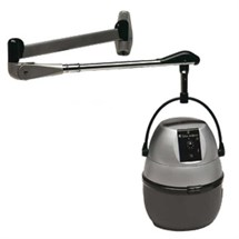 Salon Ambience Deluxe Black Hood Dryer with Arm