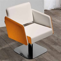Salon Ambience Kite Styling Chair + Swivel - 5 Star Base
