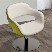 Salon Ambeince Vanessa Styling Chair with Swivel - 5 Star Base