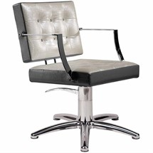 Salon Ambience Grace Hydraulic Chair [non-lockable, hydraulic pump] + Five Star Base