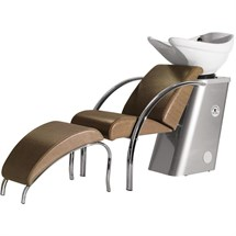 Salon Ambience Dreamwash Relax Footrest - Chromed Frame