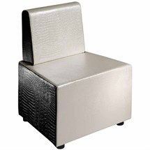 Salon Ambience Transformer One Seater Short Backrest