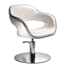 Salon Ambience Vanessa Hydraulic Chair [lockable, hydraulic pump] + Disc Base
