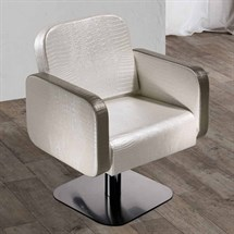 Salon Ambience Icon Reclinable Styling Chair + Lockable Pump - 5 Star Base