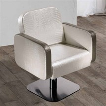 Salon Ambience Icon Styling Chair + Lockable Pump - 5 Star Base