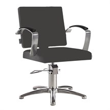 Salon Ambience Diva Styling Chair + Five Star Base