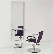 Luca Rossini Motivo Styling Unit + Glass Shelf and Footrest