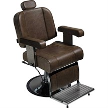 Salon Ambience Boss Barber Chair + Disc Base