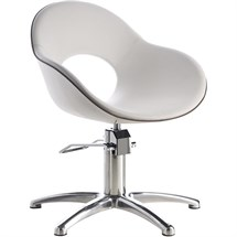 Luca Rossini Emilia Chair [lockable, hydraulic pump] + Five Star Base