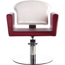 Luca Rossini Giulietta Chair [lockable, hydraulic pump] + Disc Base