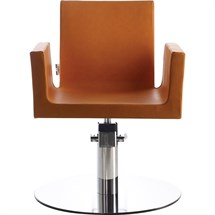 Luca Rossini Mia Chair [lockable, hydraulic pump] + Disc Base