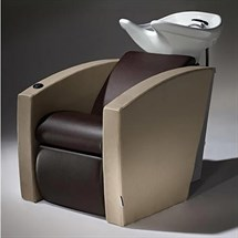 Salon Ambience Mirage Shampoo Unit - with White Basin & Legrest